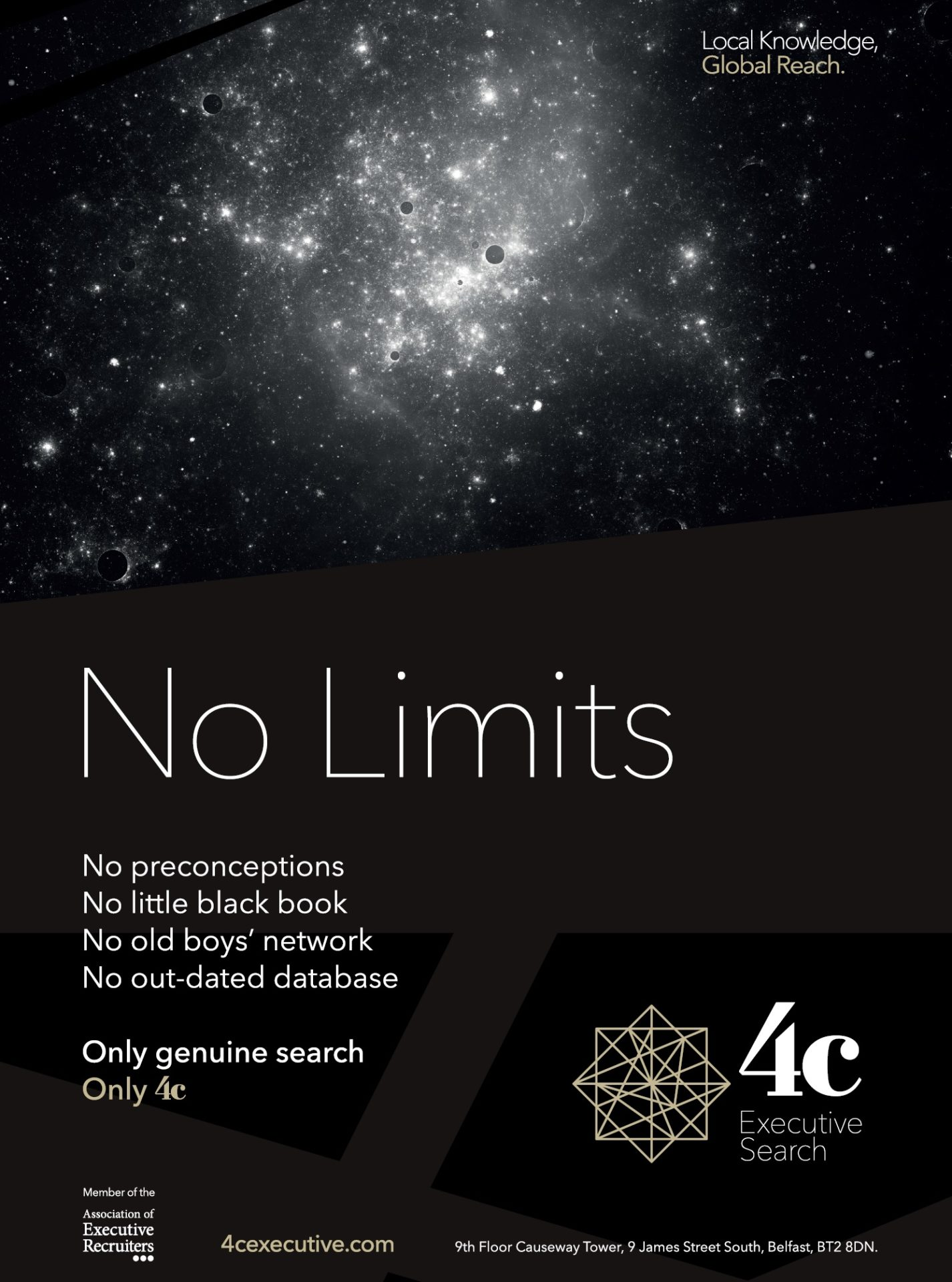 No Limits Advert